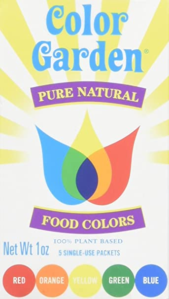Amazon.com: Color Garden Food Color All Colors, 4 ct