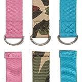 Yogi-Bare® Yoga Strap 182cm x 3.8cm Natural cotton stretching belt