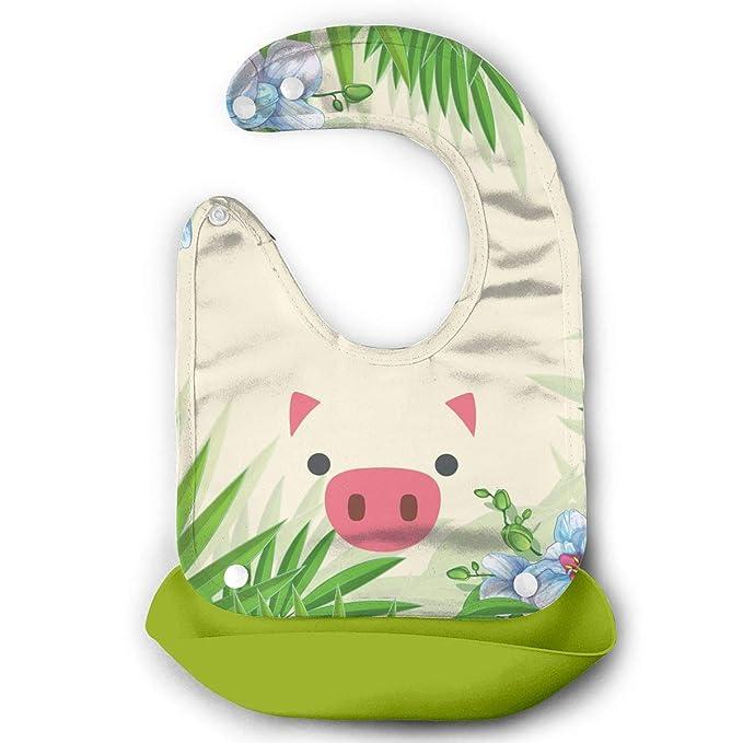 Pig Face Farm Animal Baby Bib