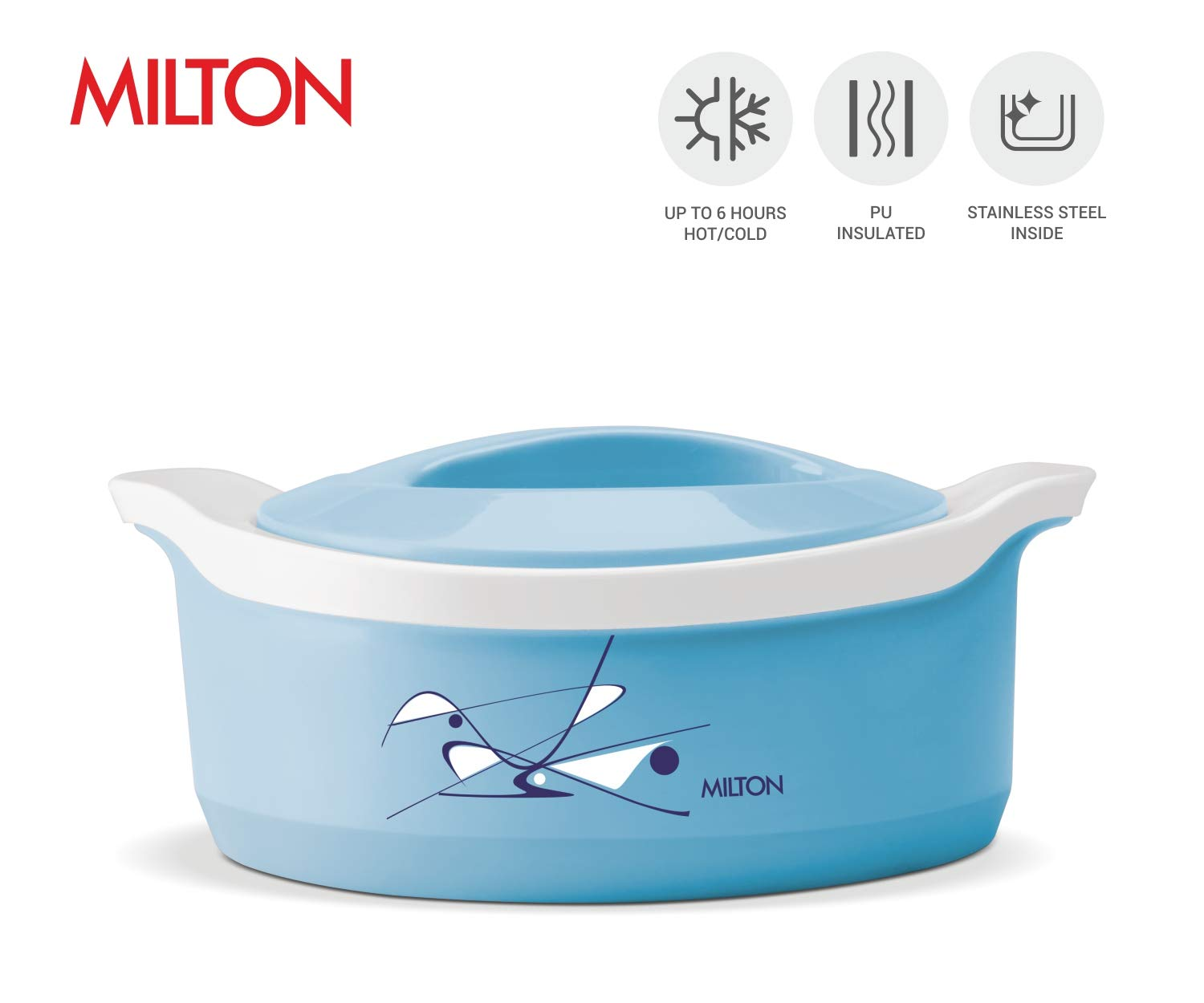 Yellow 110 Ounce Milton Marvel Insulated Hot Pot Serving Bowl with Lid Hot//Cold Upto 4-6 Hours Hamilton Housewares P Ltd.