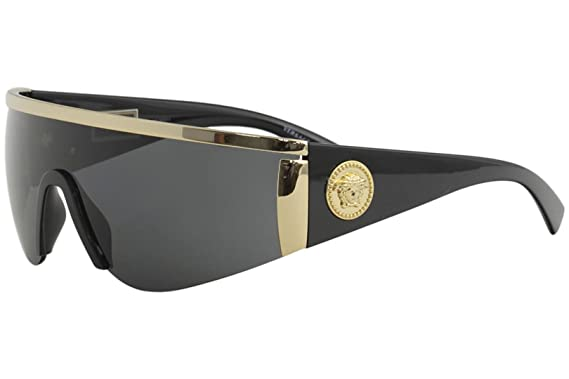 ae6348855d Amazon.com  Versace Women s Shield Sunglasses