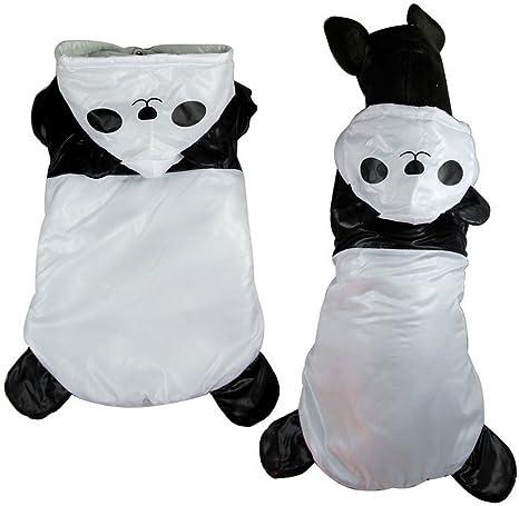 Ranphy Disfraz de Panda para cachorros tamaño mediano para ...