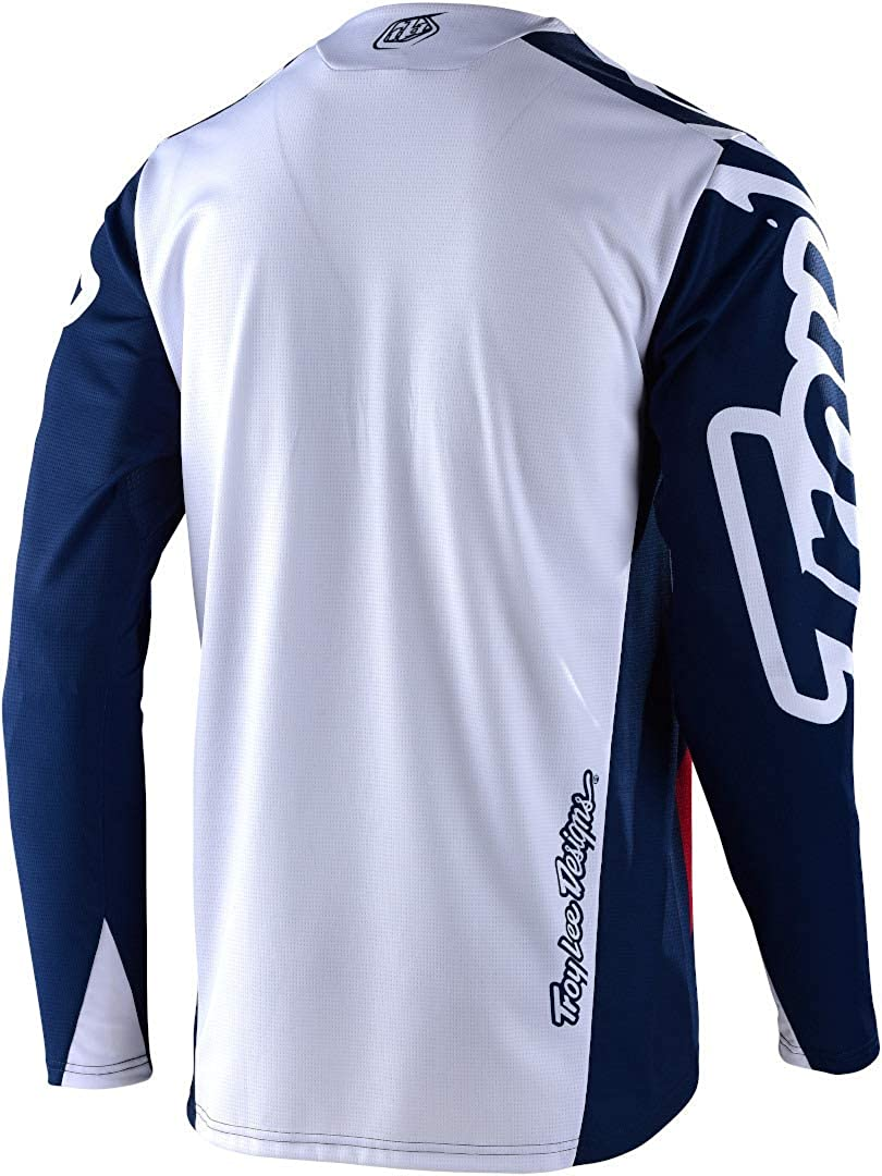 L Short-Sleeve Mens Sram Tld Racing White 2017 Troy Lee Designs Skyline Air Jersey