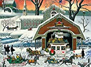 Buffalo Games - Charles Wysocki - TWAS' The Twilight Before Christmas - 1000 Piece Jigsaw Puzzle (11