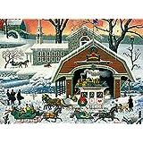 Buffalo Games - Charles Wysocki - TWAS' The Twilight Before Christmas - 1000 Piece Jigsaw Puzzle