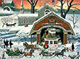 Charles Wysocki - TWAS' The Twilight Before Christmas - 1000 Piece Jigsaw Puzzle
