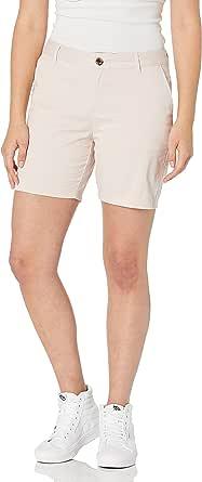 Amazon Essentials Inseam Chino pantalones cortos para mujer de 7 pulgadas
