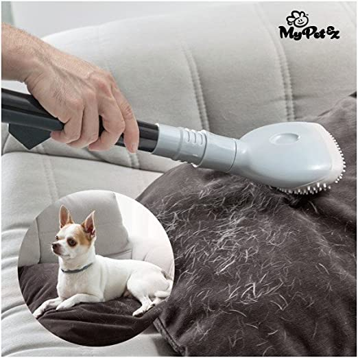 My Pet Ez IG113614 - Cepillo quitapelos para Aspirador, Color Gris ...