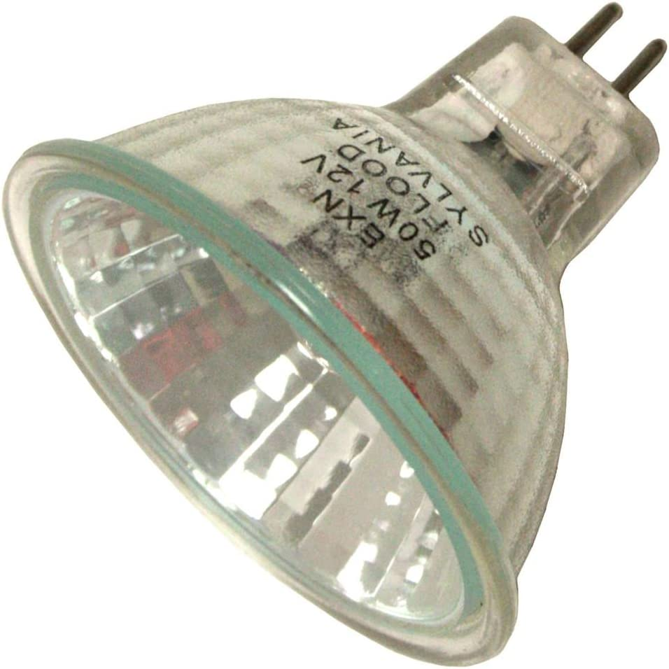 Sylvania 50-Watt MR16 Flood and Spot Halogen Light Bulb (6-Pack)