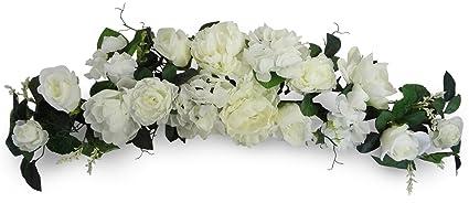 32 Cream Peony/Rose/Hydragea Swag