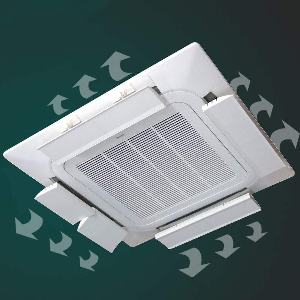 Desviador del Aire Acondicionado para el Aire Acondicionado Central de Techo, Evitar Que el Aire sople Recto, ángulo Ajustable, Apto para Cualquier Modelo, ...