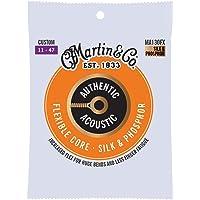Martin Authentic Acoustic FX Guitar Strings, Custom .011-.047 (MA130FX)