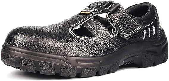 FREEUP Chaussures de Sécurité en Cuir pour Hommes
