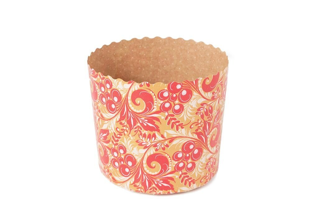 Cupcakes baking cups Perfect for muffins, cupcake souffle, Fancy panettone etc.Size 2 3/4'' x 2''H Model PA7050COL2R (400)