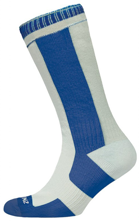 Sealskinz Calcetines de Grosor Medio Alto, Colour Blanco/Azul Marino, S, 111140314410: Amazon.es: Deportes y aire libre