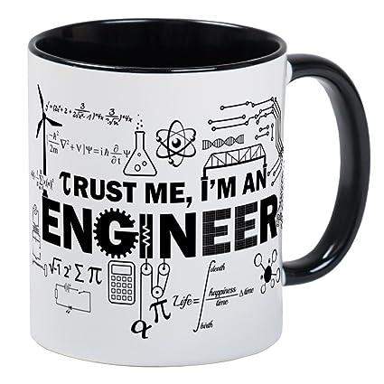 382ff5edcab Amazon.com: CafePress Trust Me I'm An Engineer Mugs Unique Coffee ...