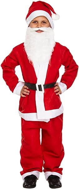 New para niños Boy de Papá Noel 5 pcs traje disfraz de ...