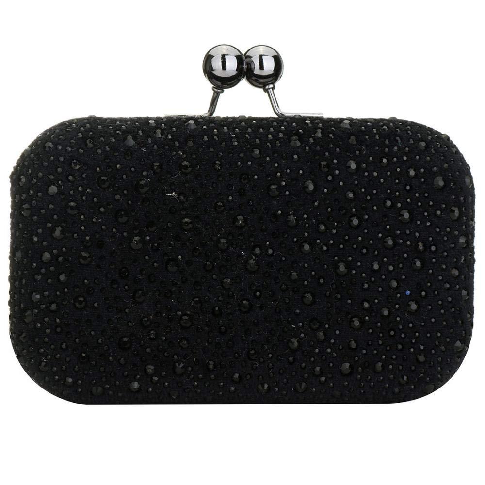 KUGIN レディース handle Bag B07P7Q3ZTT ブラック