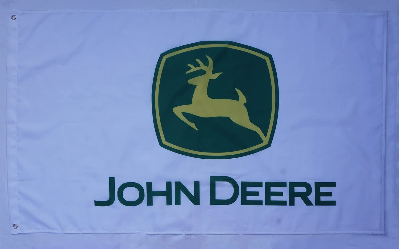 Large Flag John Deere Flag  Banner Digital Printing--John Deere Flags 3X5