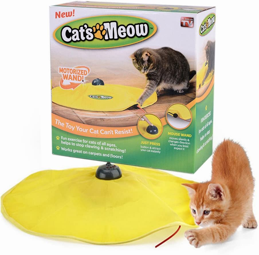Cat's Meow Undercover Mouse Interactief speelgoed voor
