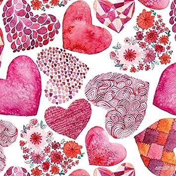 Tischsets Abwaschbar Fantasy Hearts Von Artipics Quadrino 4er Set