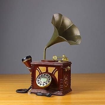 HENRYY Antiguo teléfono Europeo Antiguo Creativo Antiguo salón ...