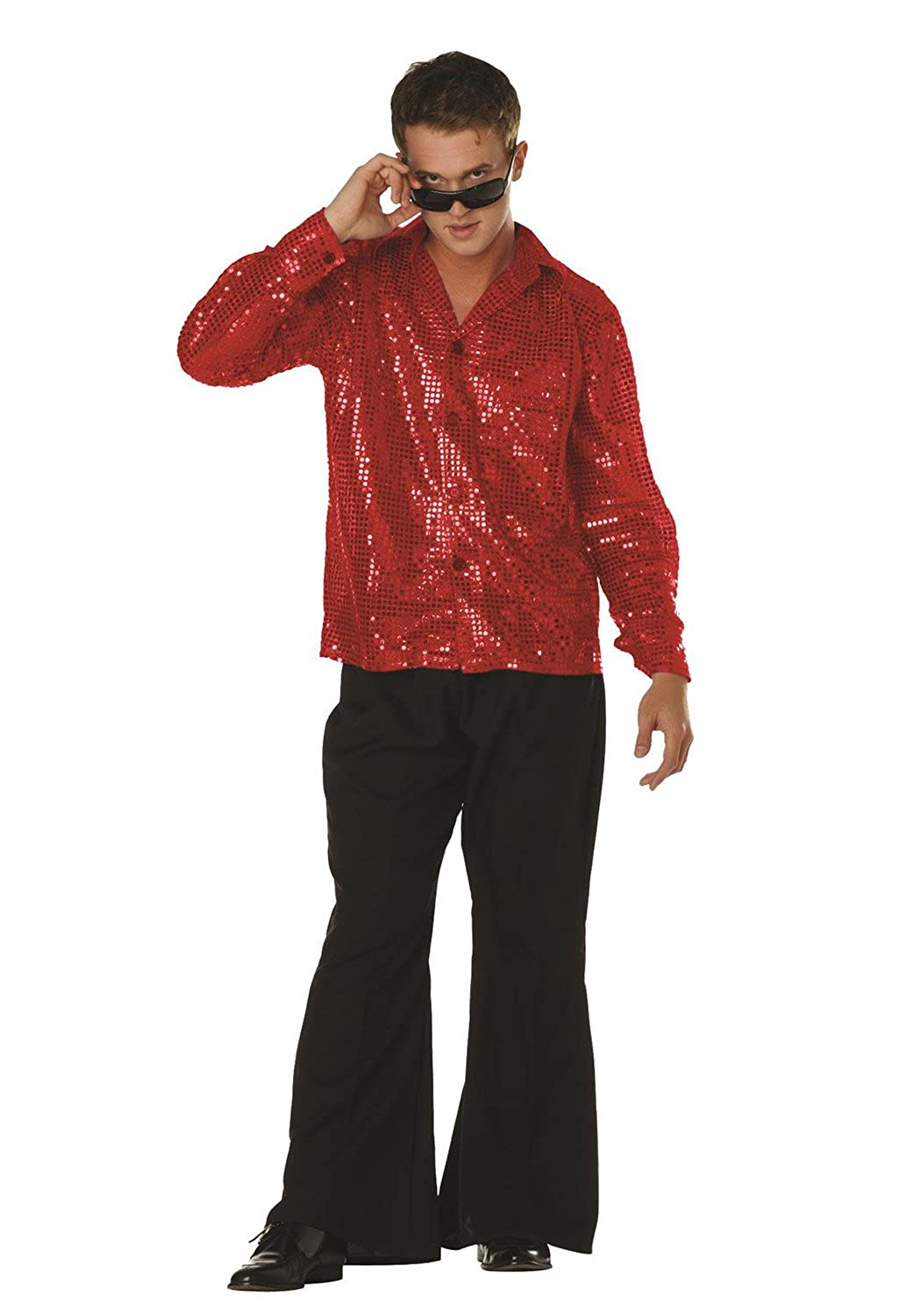Disco Inferno Shirt With 4 Buttons RG Costumes