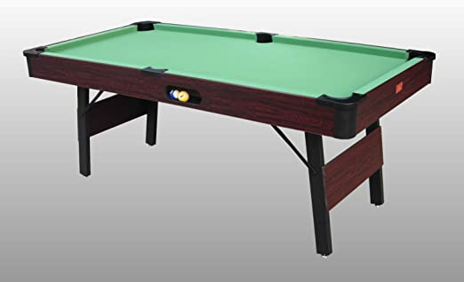 Mesa de Billar Siena (184 cm) con Patas Plegables y Retorno de Bola – r5505 – (184 cm x 92 cm x 80 cm) – Papel Completo de Todos los Accesorios: Amazon.es: Deportes y aire libre