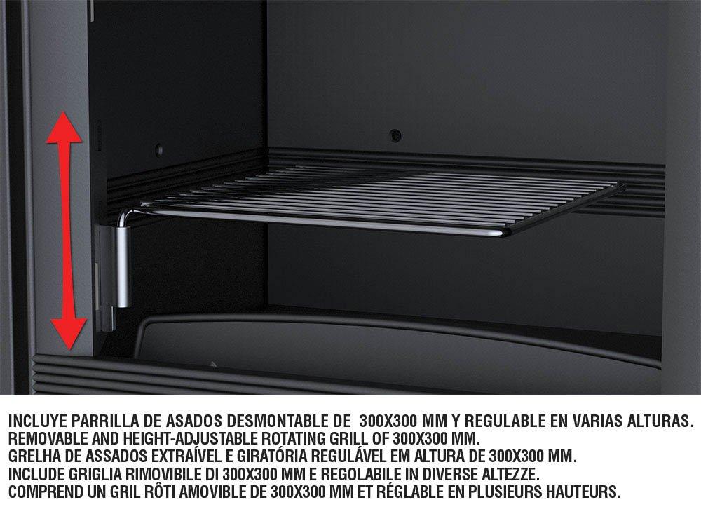 ESTUFA DE LEÑA BRONPI MODELO CROACIA: Amazon.es: Bricolaje y ...