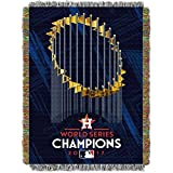 "The Northwest Company Houston Astros MLB 2017 World Series Champions Woven Tapestry Throw (48""x60"")"