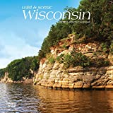 Wisconsin, Wild & Scenic 2019 7 x 7 Inch Monthly Mini Wall Calendar, USA United States of America Midwest State Nature