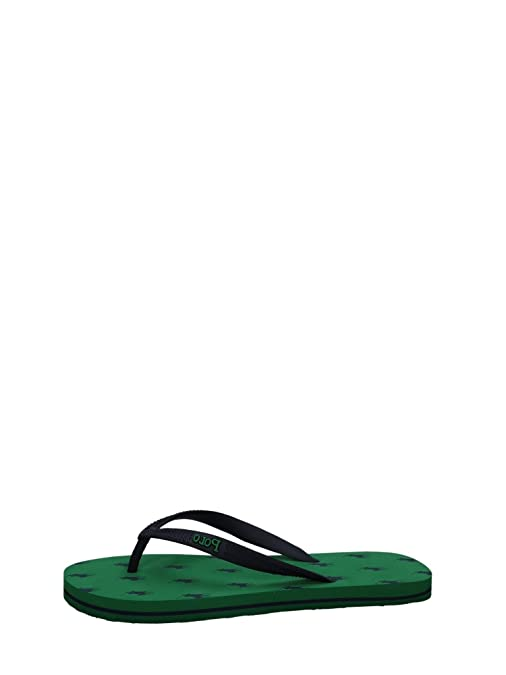 Polo Ralph Lauren - Sandalias para Mujer Verde Olive 42: Amazon.es ...