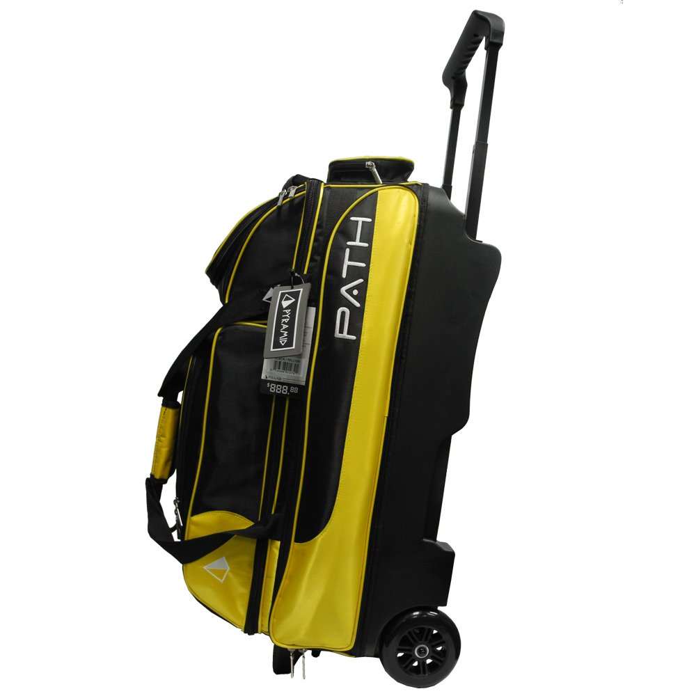 Pyramid Path Triple Deluxe Roller - Black/Gold