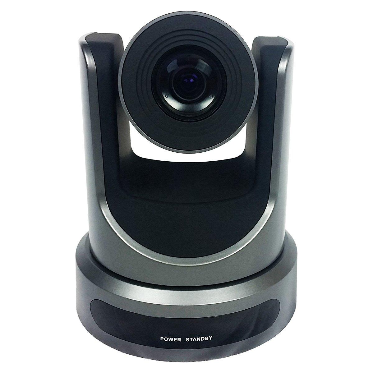 PTZOptics-20X-SDI GEN-2 PTZ IP Streaming Camera with Simultaneous HDMI and 3G-SDI Outputs - Gray by PTZOptics