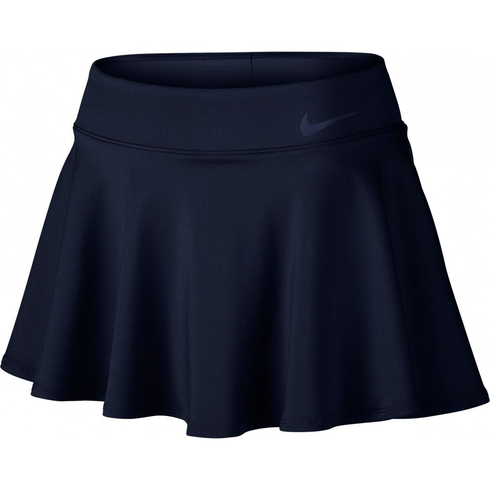 Nike Women's Court Baseline Tennis Skirt, Obsidian, XL