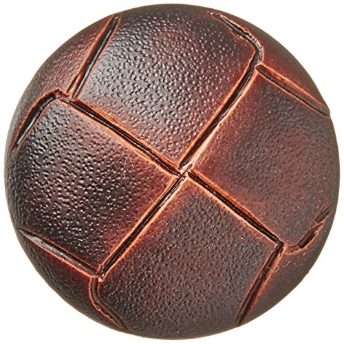 Blumenthal Lansing Slimline Buttons Series 2-Brown Imitation Leather Shank 1-1/8