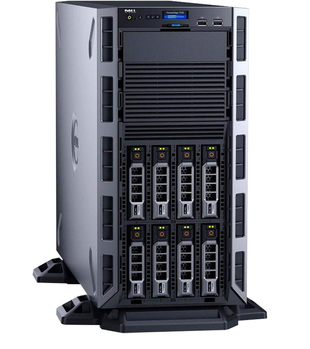 PowerEdge T330 Tower Server, Windows 2019 STD OS, Intel Xeon E3-1230 v6 Quad-Core 3.4GHz 8MB, 32GB DDR4 RAM, 8TB Storage, RAID, Single PSU, 3 Year Warranty by Aventis Systems Inc (Image #3)