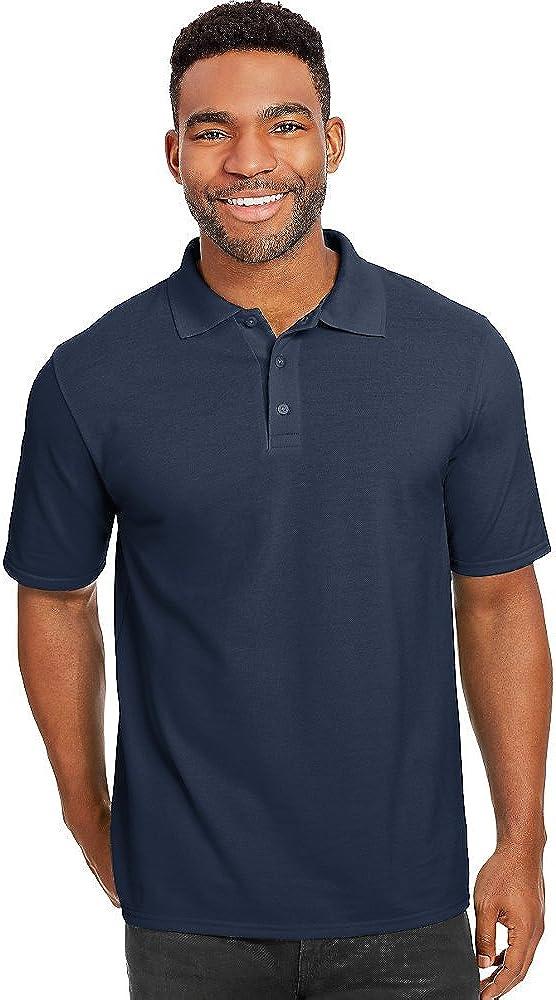 Hanes X-Temp Men's Pique Polo Shirt