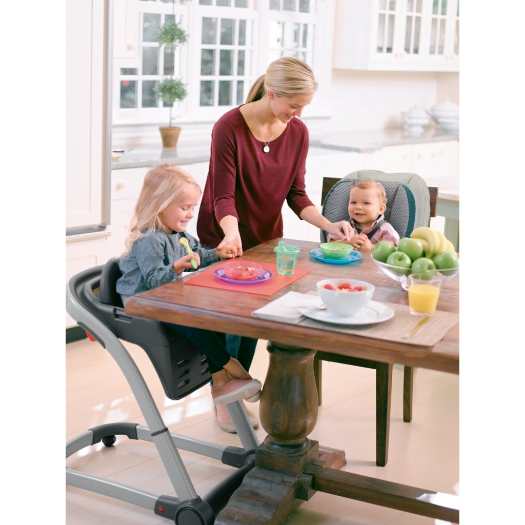 Graco Blossom 4-in-1 Convertible High Chair Seating System, Sapphire by Graco (Image #5)