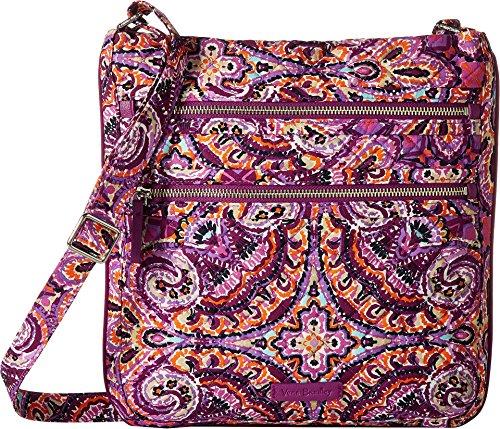 - Vera Bradley Iconic Triple Zip Hipster, Signature Cotton, Dream Tapestry