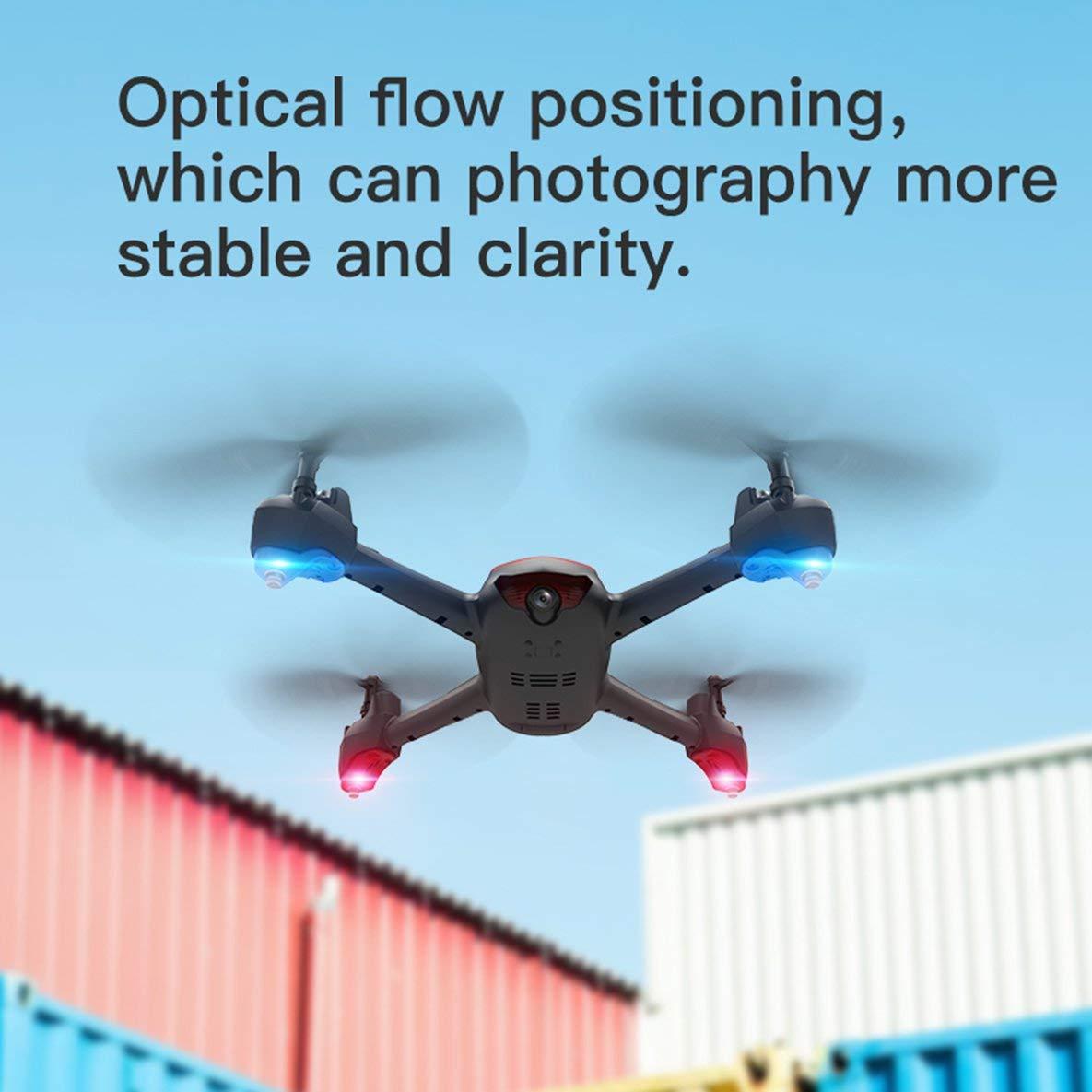 SH2 1080P Quadcopter Aviones de Cuatro Ejes 100 M de Distancia de Control Remoto WiFi Drone Aviones Drone aéreo: Amazon.es: Electrónica