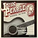 John Pearse 510L Acoustic Phosphor Bronze and Silk Wound, light