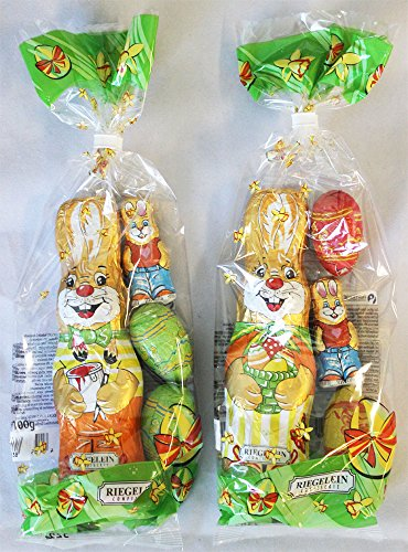Riegelein Assorted Easter Bags - TWO Pack (100g each)