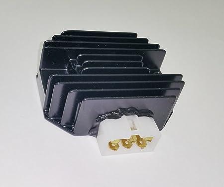 M97348 ESP2317 230-58018 230-22066 21066-2070 SH626-12 New Voltage Regulator Rectifier for Kawasaki John Deere Gator 425 445 F911 Gator 6X4 ALL 18HP M97348 Kawasaki 21066-2070