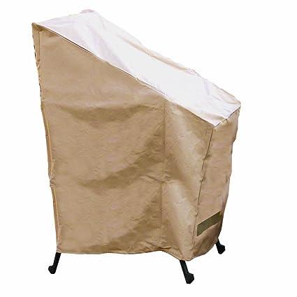 Amazon.com: Hearth & Garden. Funda para pila de sillas ...