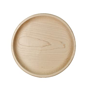 Camden Rose Small Maple Wooden Plate 6.25u0026quot; ...  sc 1 st  Amazon.com & Amazon.com : Camden Rose Small Maple Wooden Plate 6.25