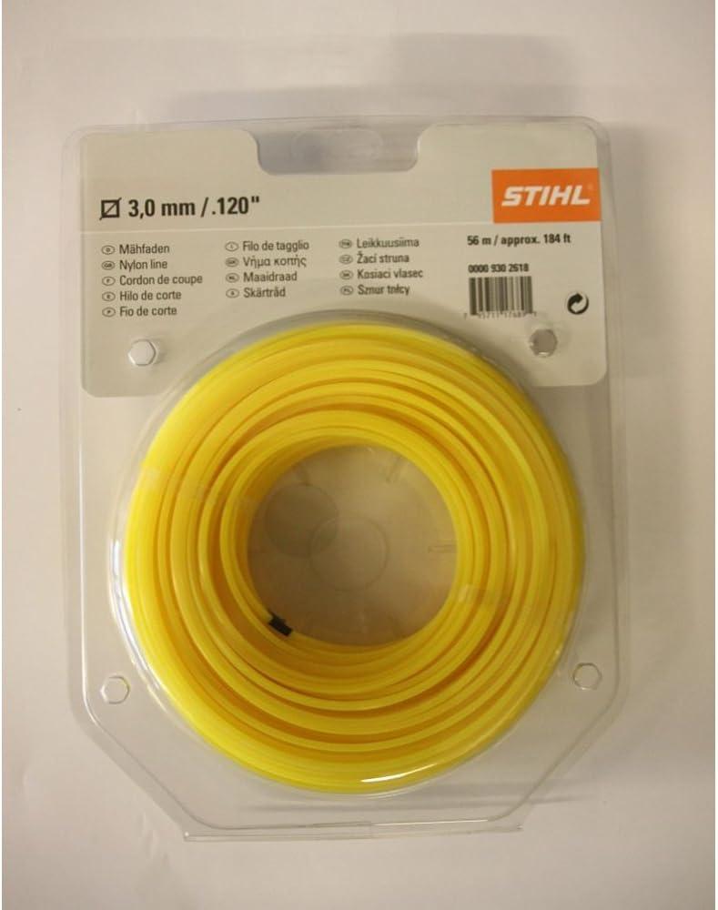 Stihl – Línea de cuadrado amarillo 3.0 mm: Amazon.es: Bricolaje y ...