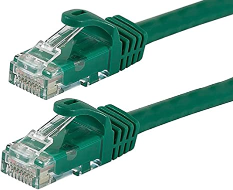 25 Pack Lot 5ft CAT6 Ethernet Network LAN Patch Cable Cord 550 MHz RJ45 Green
