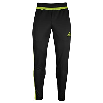adidas Women's Tiro 15 Training Pant (BlackSemiSolarYellow) Sz SM
