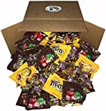 Candy Assorted Snack Pack of Snickers Bar, MMs Chocolate, MMs Peanuts, Milky way, Twix, Mini Size Bulk for Halloween, Office, School and Work (5 pound Bag)